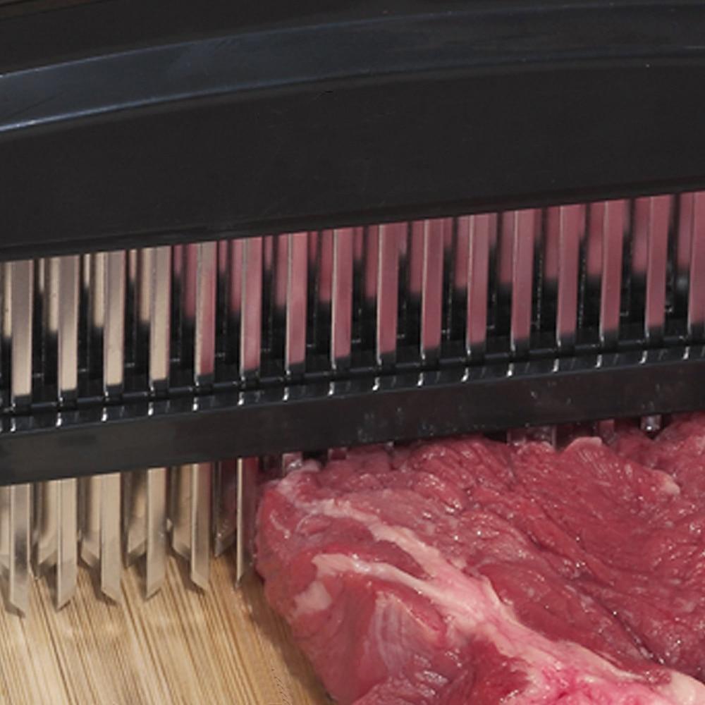 48 Blades Needle Meat Tenderizer Stainless Steel Knife Meat Beaf Steak Mallet Meat Tenderizer Hammer Pounder Cooking Tools