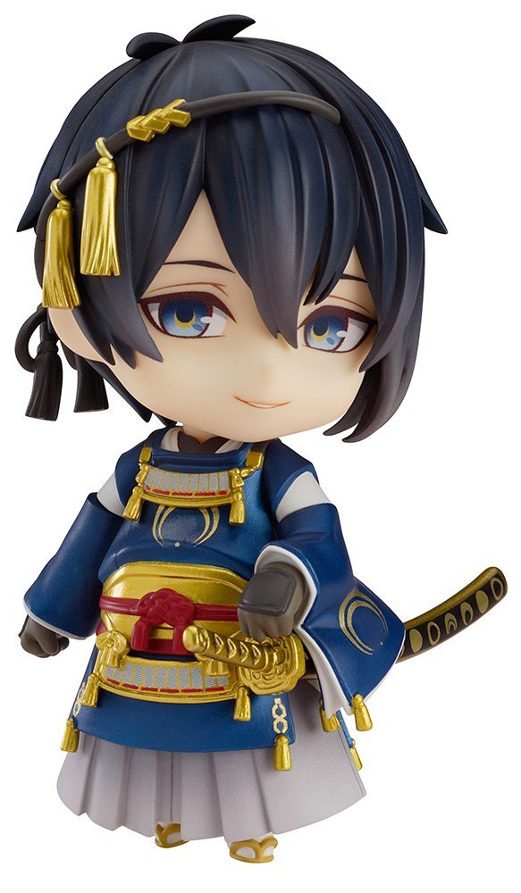 Hot Sale Good Smile Nendoroid 511 # Mikazuki Munechika Nitro+ Game Anime Touken Ranbu Online Action Figure ...