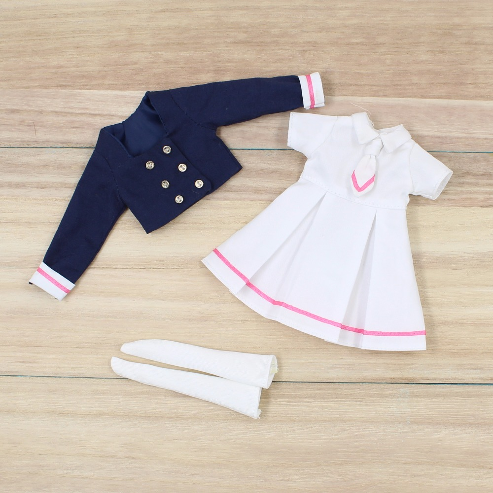 Neo Blythe Doll School Uniform Dress 1