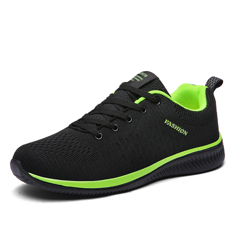 Image 2 - 2019 Spring New Mesh Men Sneakers Lace up Men Casual Shoes Lightweight Breathable Walking Sneakers Tenis Feminino Zapatos WW 866-in Men's Casual Shoes from Shoes