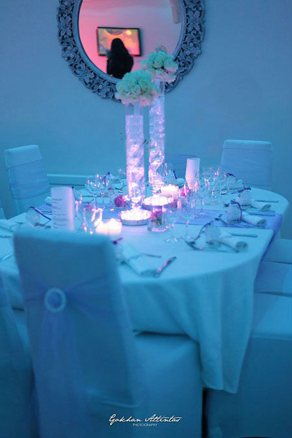Blue led lights for centerpieces roselawnlutheran