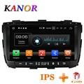 KANOR Octa Core IPS Android 8,0 RAM 4g 32g ROM 2 din Radio del coche para KIA Sorento 2013 radio GPS WIFI Bluetooth Mapa de Audio USB