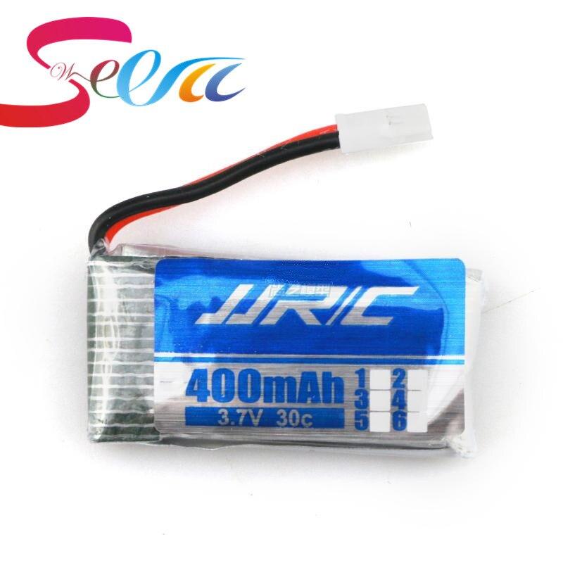 Оригинальный Аккумулятор JJRC H31 Запасных Частей 3.7 В 400 мАч Батареи H31-011 Lipo батарея 3.7 В 400 мАч Для JJRC H31 XH разъем 30C