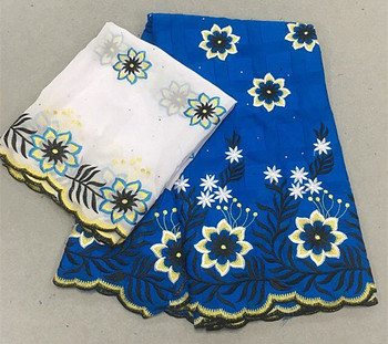 2019 Nigerian Lace Fabric High Quality Lace African Swiss Voile Lace In Switzerland For Wedding Dresses     KCJUL243