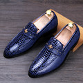 Tidog Korean fashion leather casual shoes fashion loafer shoes