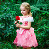 Noble Sleeping Beauty Dress For Girls Party Cosplay Costume Children Girl Princess Aurora Dresses Fancy Tulle