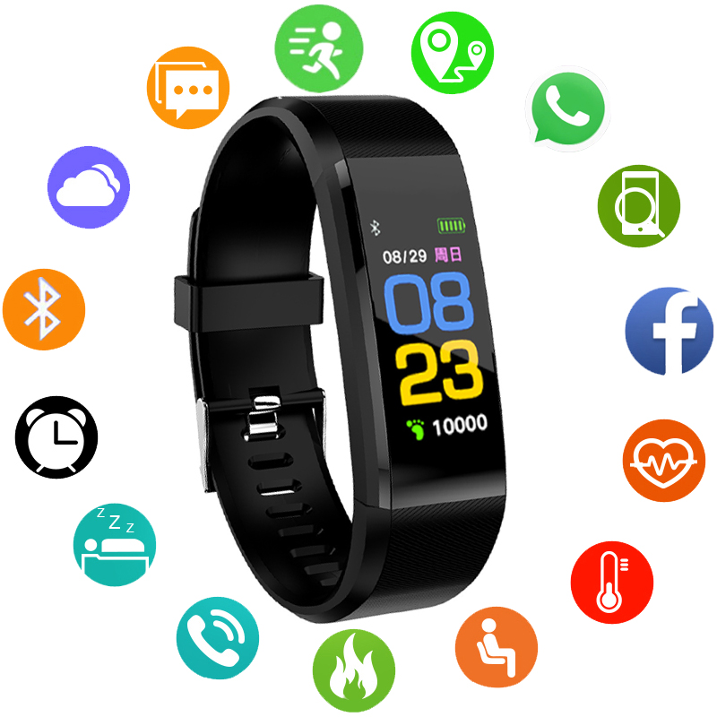 Kinderuhren Smart Armband Uhr Kinder Kinder Uhren Oled Display Wasserdichte Digital Led Sport Uhr Kind Handgelenk Bluetooth Smartwatch