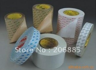 3M 9448A Black double sided tissue adhesive tape/15mm*50M/10rolls/lot we can offer you other size