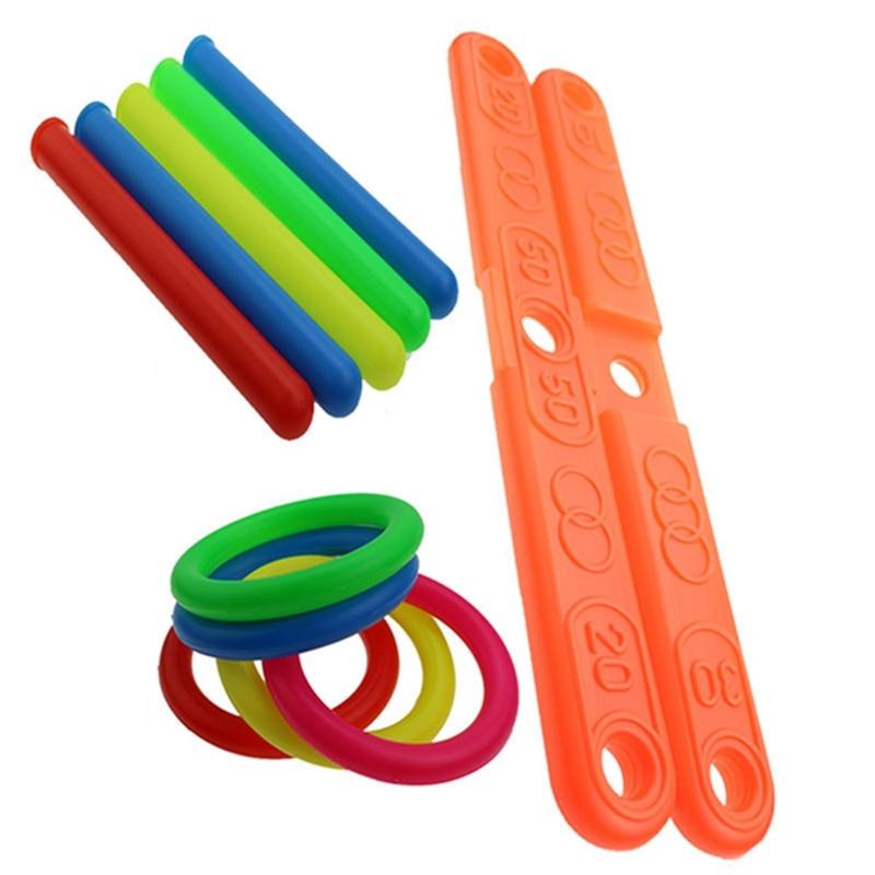 Toss Plastic Ring Throwing Ring Pool Toy Funny Kids Hoop Cross Garden Game Toss Quoits Outdoor Fun Outdoor Sport Toys