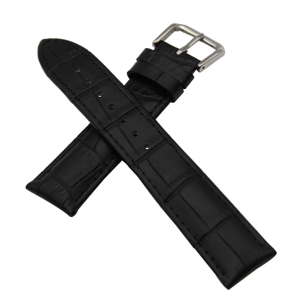18mm 19mm 20mm 21mm 22mm Croco Genuine Leather Watch Band for Timex Weekender Expedition Strap Wrist Belt Bracelet