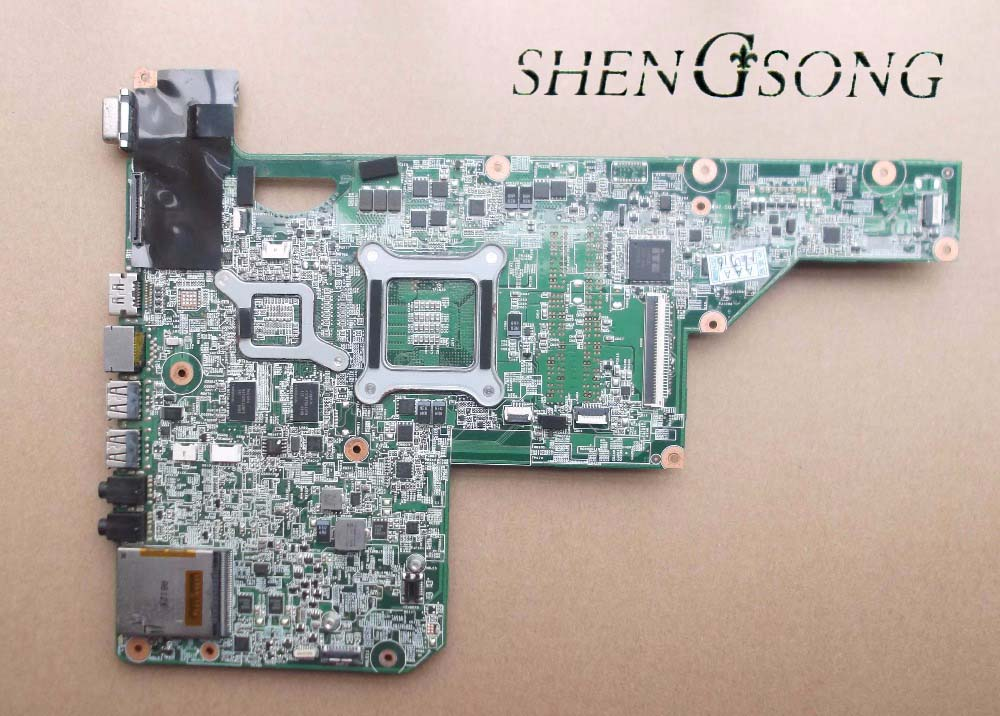 615382-001 free shipping for hp G62 Laptop Motherboard 1GB 100% test OK 574680 001 1gb system board fit hp pavilion dv7 3089nr dv7 3000 series notebook pc motherboard 100% working