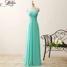 JAEDEN Sweetheart Pleat Lace up Back Sleeveless Long Wedding Party Dresses 2017 E372 Strapless Floor Length