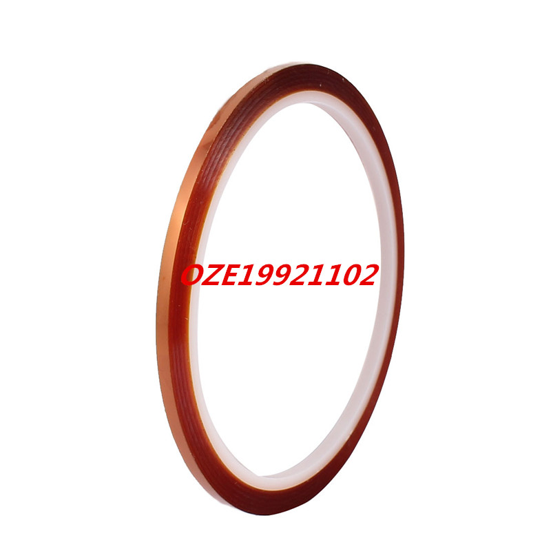 1pcs 3mm Width 33M Length High Temperature Heat Resistant Adhesive Polyimide Tape size length width thickness 100mm 100mm 3mm wear resistant high temperature resistance peek plate sheet