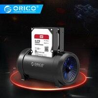 """Orico 5628us3 2.5 """"& 3.5"""" estação hdd dois bay clone offline hdd docking station com ventilador de refrigeração e 12 v dc adaptador de energia Caixa externa para HDD    -"""
