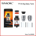 Original Smok TFV8 Big Baby Tank 5ml Adjustable Airflow Top Filling Tank TFV8 Baby Tank Best Match SMOK G-priv Gpriv Box Mod