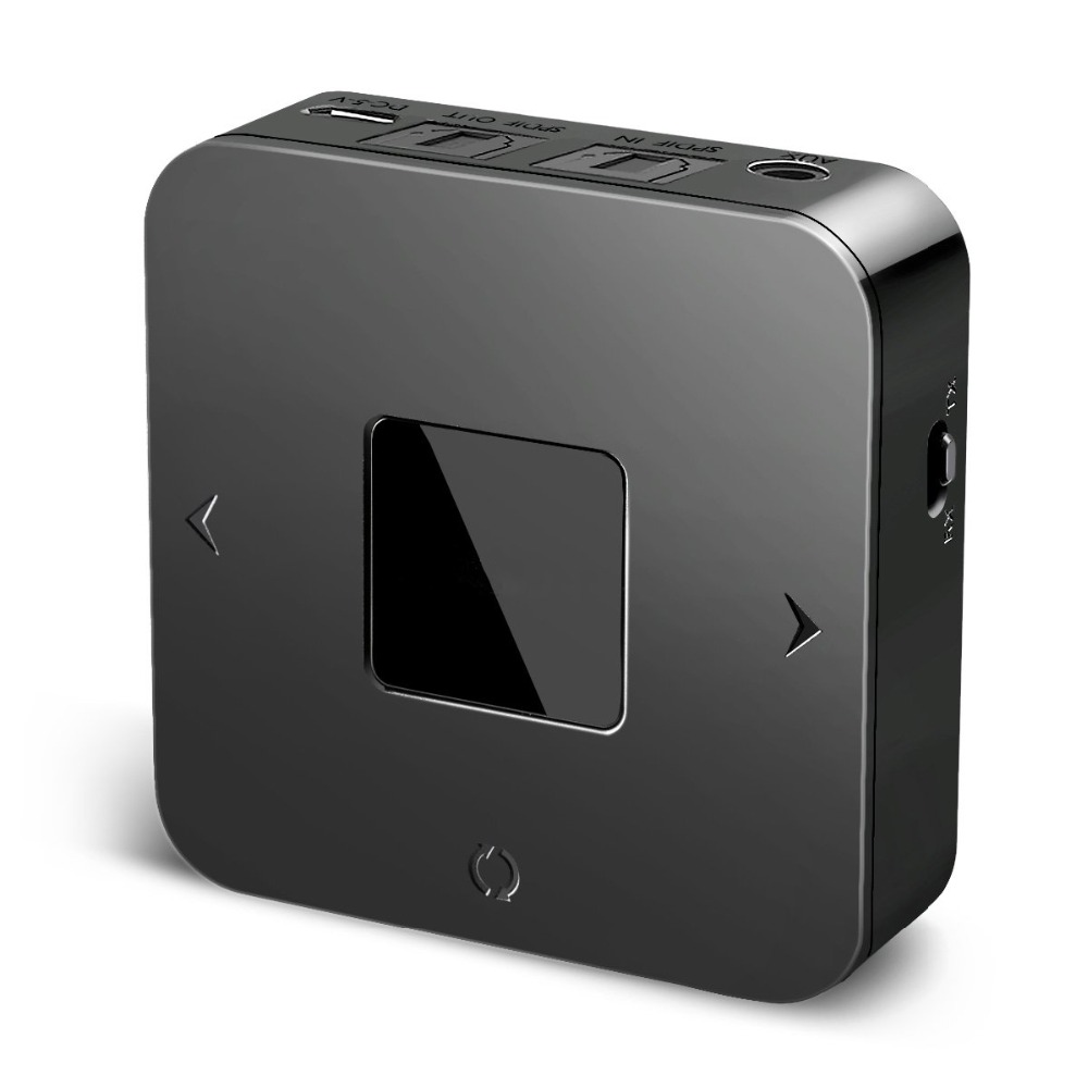 Portable Bluetooth 5 0 Aptx Low Latency 3 5mm SPDIF Optical TV font b Audio b