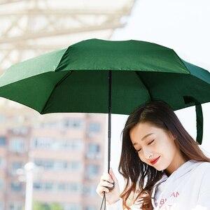 Image 4 - Youpin Umbracella Fiber Ultralight yağmurlu güneşli şemsiye güçlü rüzgar geçirmez şemsiye Ultra küçük taşınabilir şemsiye