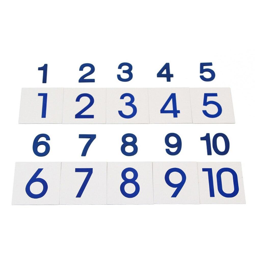 Holz Zahl Zählen Block Kinder Kinder Vorschul Mathematik Lernen ...