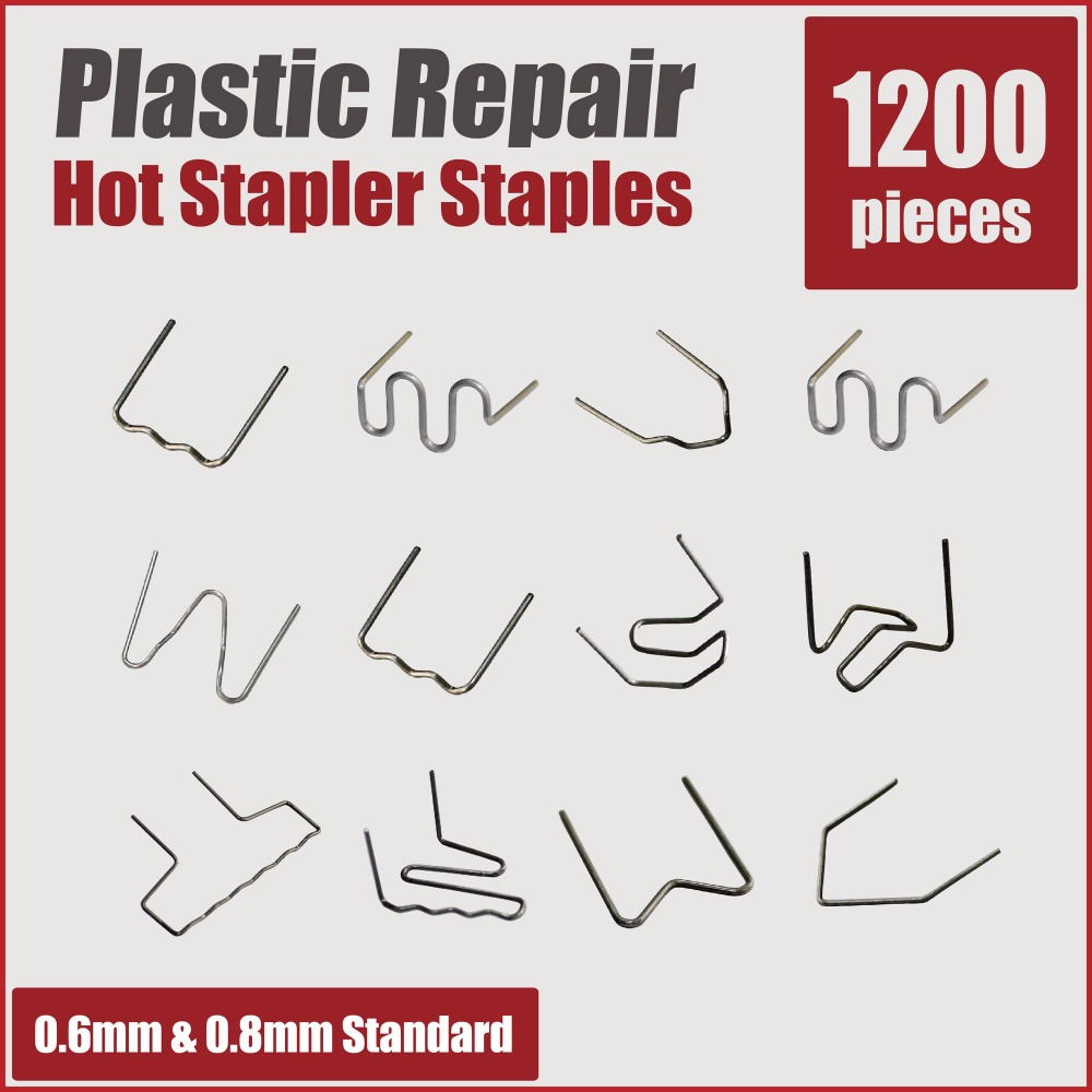 Plastic welder welding wire hot staples car bumper repair kit body remove dents stapler gun soldering pin tools auto bodywork