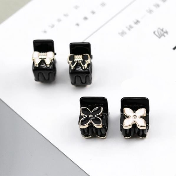5pcs New acrylic Bowknot flower Hair Crab Claw clip Hair Claws Clamp for Women Ornaments Girl Hairgrip High Quality Accessory in Women 39 s Hair Accessories from Apparel Accessories