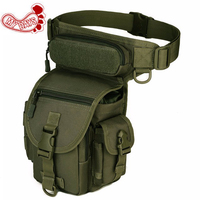 MY DAYS Professional Drop Utility Thigh Pouch Multi Pockets Military Waist Pack Weapons Tactics Outdoor Sport