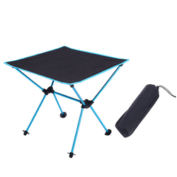 Lampka przenośna stolik na zewnątrz stół kempingowy piknik grill składany stół w Zewnętrzne narzędzia od Sport i rozrywka na