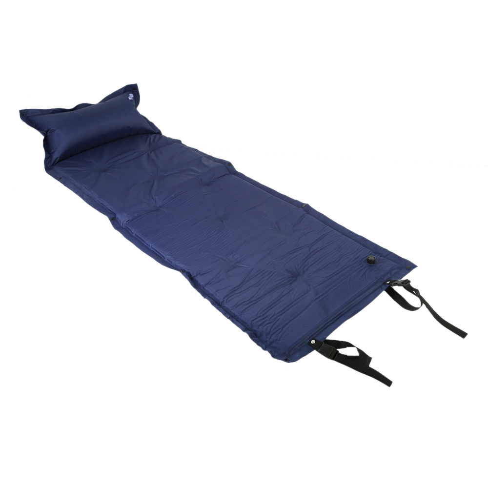 free shipping camping mat inflated sleeping pad camping air mattress portable folding beach mat. Black Bedroom Furniture Sets. Home Design Ideas