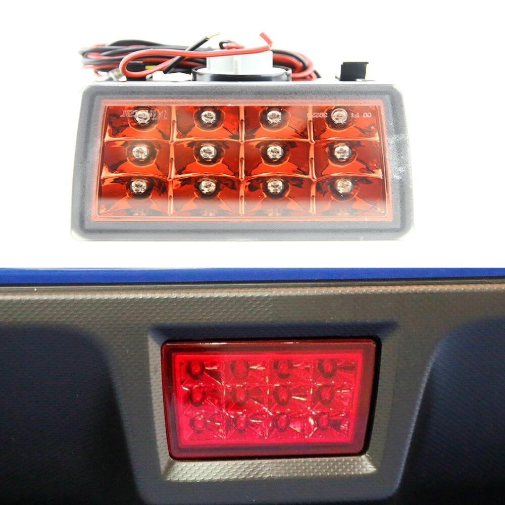 Red Lens F1 Style LED Rear Fog Light Kit For Subaru 2014 WRX VAG 2014 STI