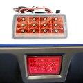 Lente vermelha Estilo F1 LEVOU Kit de Luz de Nevoeiro Traseira Para Subaru WRX 2014 (VAG), 2014 STI (VAB), 2012 XV, 2011 ~ Imprez com frete 7440 arnês