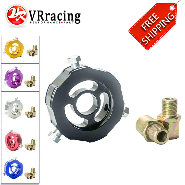 FREE SHIPPING ADD Oil Block Adaptor oil temp pressure sensor Turbo line Oil Adapter sandwich VR6745