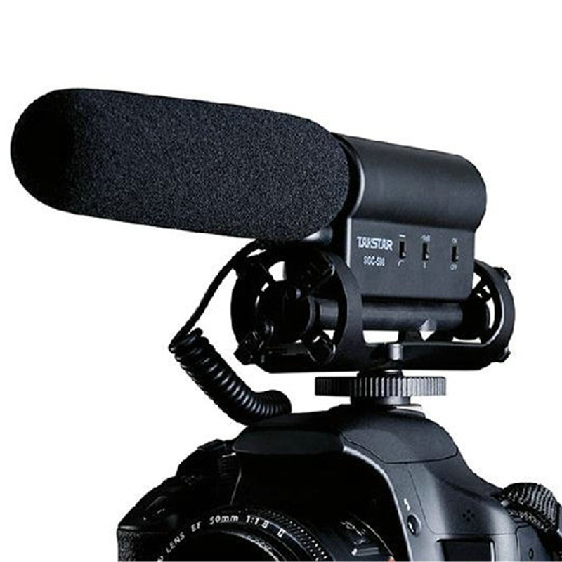 Original Takstar SGC 598 Photography Interview Microphone for Youtube Vlogging Video Shotgun MIC for Nikon Canon DSLR