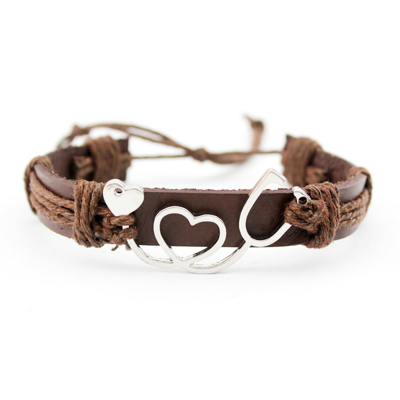 Image 2 - Medical Alert Alzheimers Meningitis Lupus Epilepsy Pancreatic Cancer Domestic Violence Rett Syndrome Hope Ribbon LeatherBracelet-in Charm Bracelets from Jewelry & Accessories
