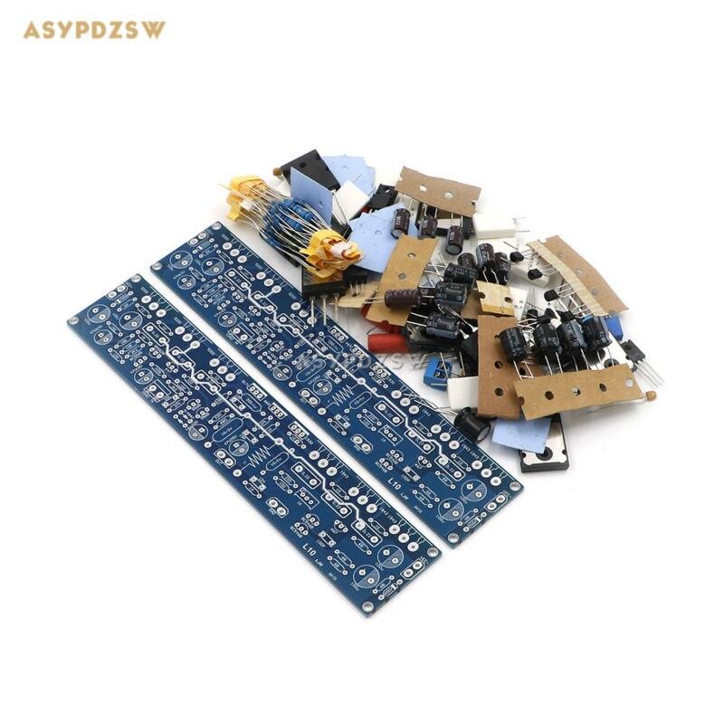 2 Channel L10 Power amplifier DIY kit Transistor amplifier kit A1943 C5200 BC546B BC556B