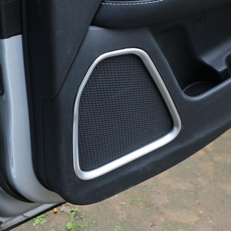 Carbon fiber Electronic Handbrake Decorative Trim for Jeep Compass 2017 2018
