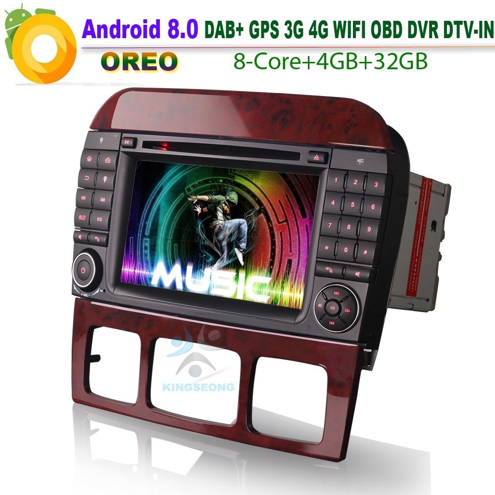 8 core android 8 0 autoradio dab cd wifi 3g gps radio obd. Black Bedroom Furniture Sets. Home Design Ideas