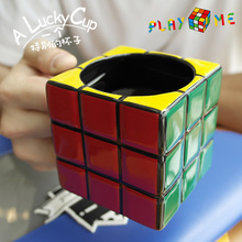 Contracted Creative Lovely Rubiks Cube Ceramic Coffee Cup Personality Large Capacity Mug Special Gifts For Boys Caneca Gundam