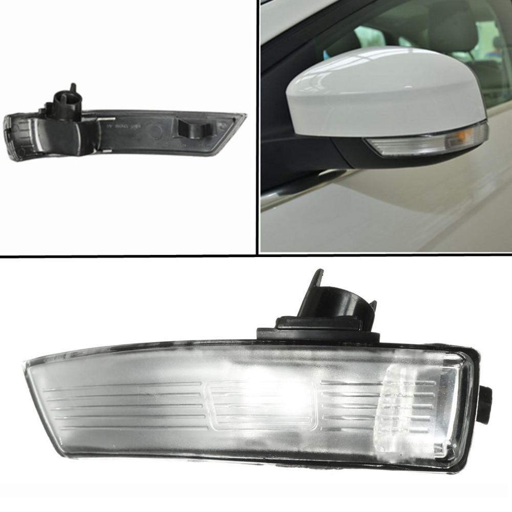 Liplasting пластик прочный левой стороны крыло зеркала Индикатор сигнала поворота лампы Крышка объектива Замена для Форд Фокус 2008-2016