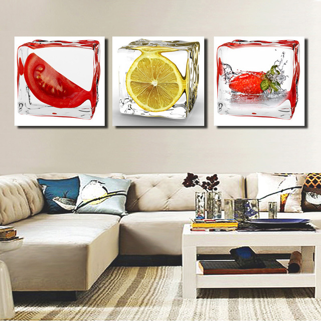 Framed Canvas Prints Ready To Hang Fruit Canvas Paintings Oil 3