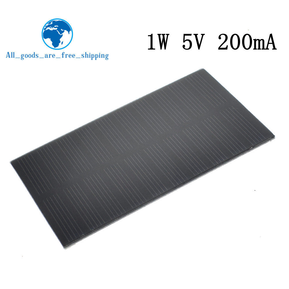 Active Components Smart Electronics Solar Panel 1w 5v Electronic Diy Small Solar Panel For Cellular Phone Charger Home Light Toy Etc Solar Cell Electronic Components & Supplies