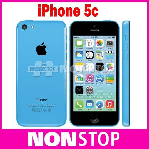 iPhone5c Original Unlocked iPhone 5C IOS GPS WIFI Dure Core 4.0 Screen 16GB/32GB storage cellphone