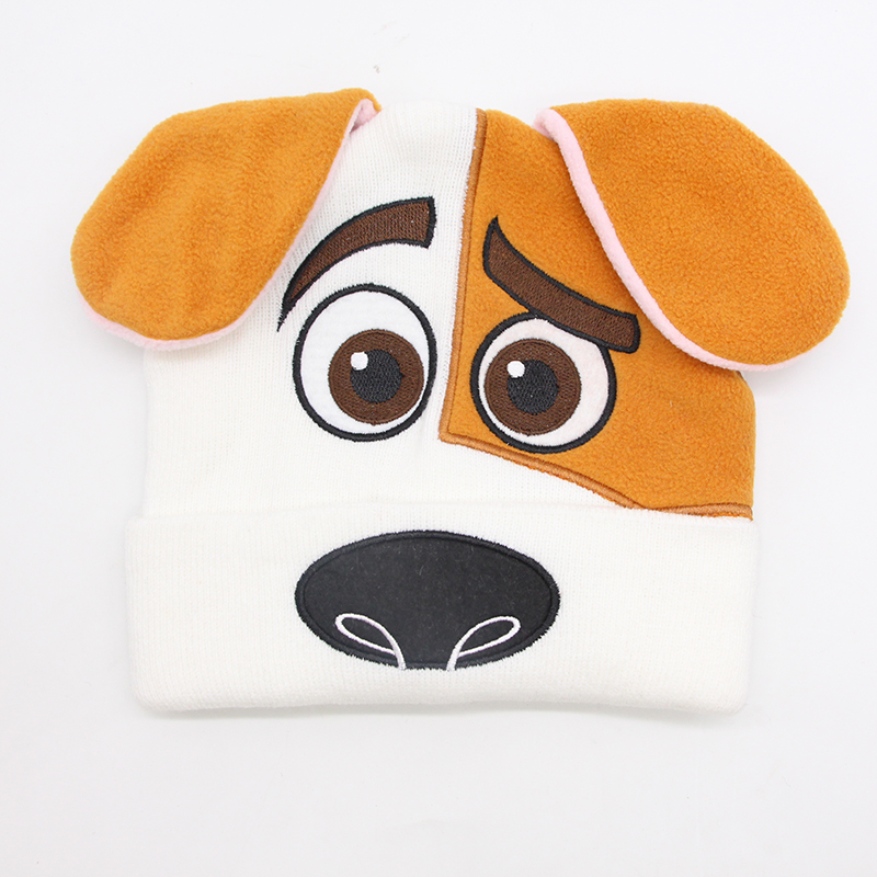 001036ecd80 SELLWORLDER Dog Pet Chase Character Baby Boys Winter Hat Skullies   Beanies