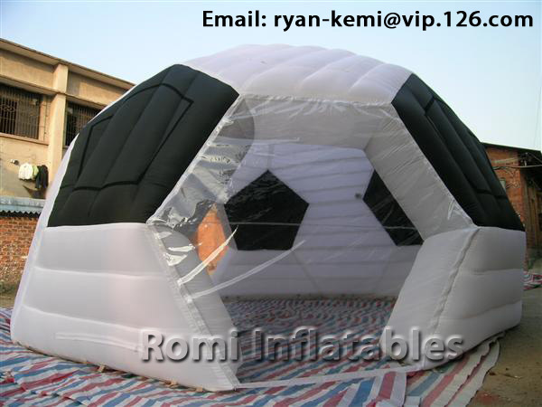 Inflatable football tent Inflatable soccer tent  Inflatable sports tent inflatable dome tent
