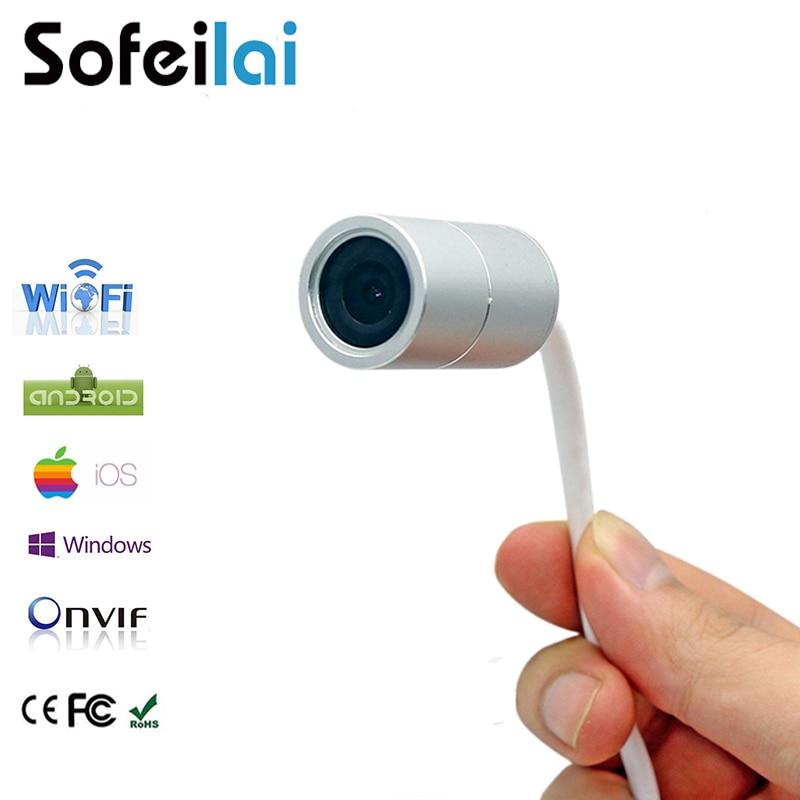 WIFI P2P IP Mini Camera HD 720P H.264 Micro Cameras ip67 Motion detection onvif micro sd card recording CCTV P2P security camara