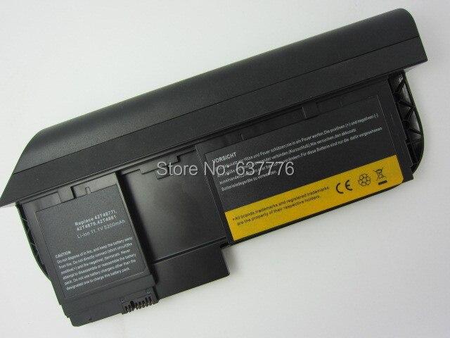 5200 МАЧ Батареи НОУТБУКА 42T4881 42T4882 42T4879 0A36285 0A36286 42T4877l для IBM ThinkPad X220t Tablet Серии