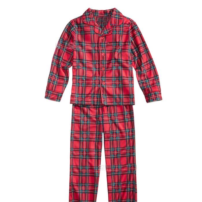 christmas family matching pajamas set plaid christmas pajama set for family  red family look clothing in 1ea7b3d94
