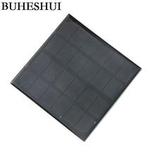 BUHESHUI 3W 6V Monocrystalline Solar Panels Small Solar Power 3.6V Battery Charger Solar Cell 24pcs/lot 145*145MM Free shipping