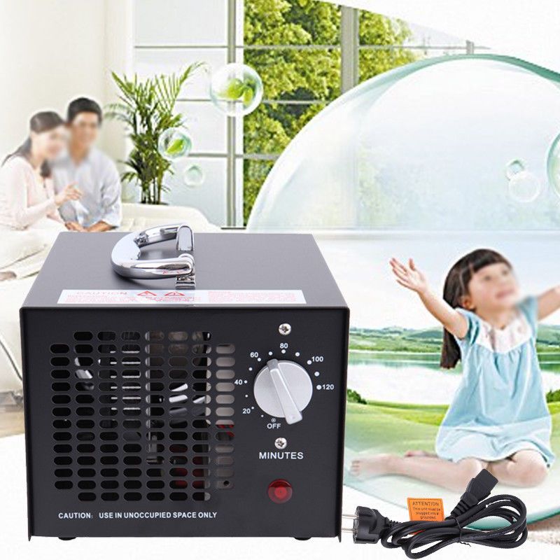 (Ship from Germany) HE-15 55W Odor Smoke Ozone Air Purifier Cleaner Generator Portable Fresh Clean Air Home Office eglo садово парковый светильник eglo navedo 93464