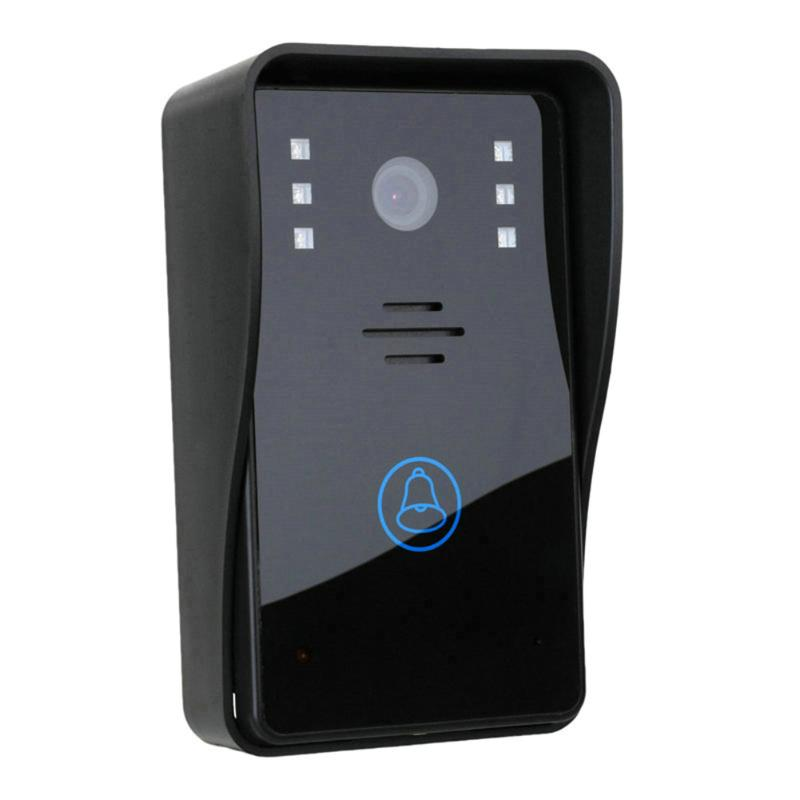 Wireless Video Door Phone Intercom Doorbell Home Security Camera Monitor color speakerphone for access control 1v3 doorbell camera 2 4ghz video wireless videocitofono video door phone with 3 indoor monitors for door access security