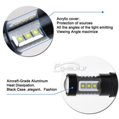 Bombilla LED 12V 9006 80W Super Bright 6000K 760LM PARA LUZ - Luces del coche - foto 4