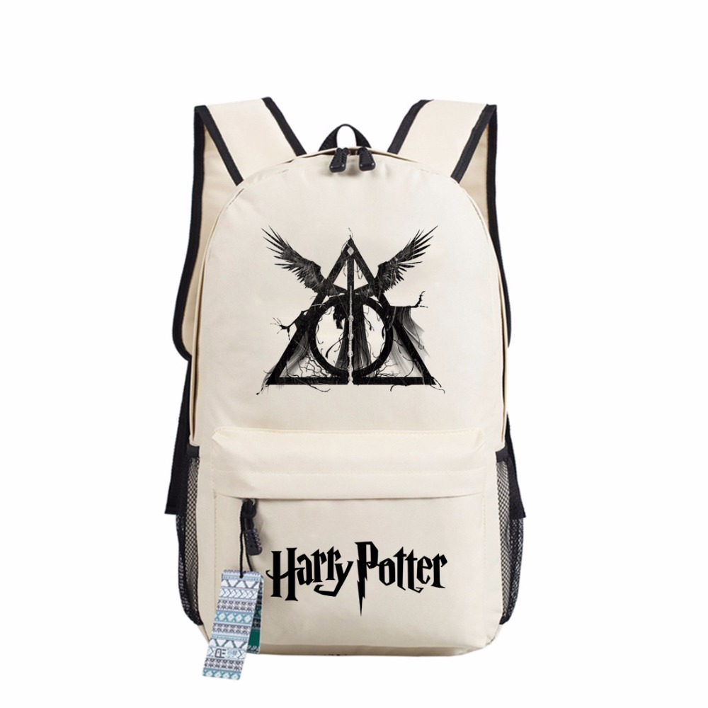 Wishot Harry Potter Hogwarts Backpack School Bags Book Children Bag Fashion Students Backpack Travel Bag For Teenagers #2